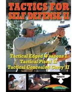 Tactics for Self Defense II-Training DVD: Edged... - $14.95