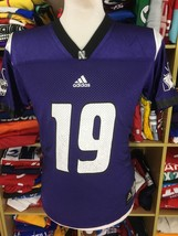 Trikot Northwestern Wildcats (164 - L Youths)#19 Football Adidas NCAA Je... - $21.12