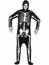 Skelett Kostüm ,Brust 86.4cm-91.4cm, Halloween Kostüm Erwachsene - $26.18