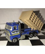 HOT WHEELS 1981 SUNSET TRUCKING STAKE TRUCK W/ DUMP BED DIE-CAST CAR MATTEL - $7.15