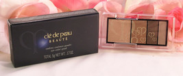 New Shiseido Cle De Peau Beaute Eye Shadow Quad Refill #208 Colors & Hig... - $34.99
