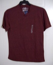 Men's Short Sleeve T- Shirt / Top by American Rag - Weathered Red - Size: XS - $11.61