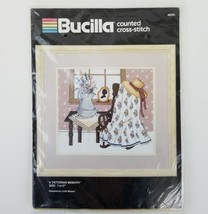 Bucilla A Victorian Memory Counted Cross Stitch Linda Meyers 40291 New Unopened - $19.27