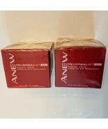 Avon Anew Reversalist NIGHT Renewal Cream LOT of 2 New Old Stock Moistur... - $34.65