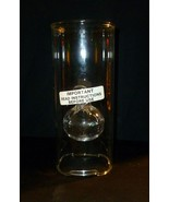 "Wolfard Hand Blown Glass Oil Lamp Classic Candle California Art 8 7/8"" - $24.74"
