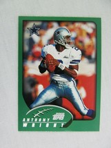Anthony Wright Dallas Cowboys 2002 Topps Football Card 252 - $0.98