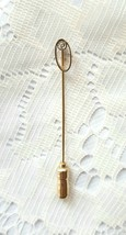Vintage Signed Anson CZ And Gold Tone Stickpin - $22.00