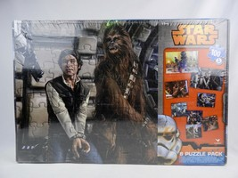 Disney Star Wars 8 Puzzle Pack New Factory Sealed 4 Sizes of puzzles  77770 - $12.01