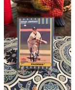 Brian Lawrence San Diego Padres 2002 Fleer Plantium   Signed Card - $23.76