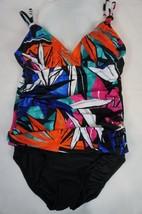 INC International Concepts One Piece Sz 18 Multi Color Tropical Swimsuit... - $39.53