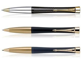 Parker Premium URBAN Gold Trim Ballpoint Pen Choose from 3 Variants - $36.00+