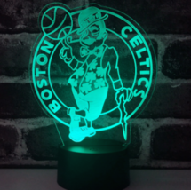 Boston Celtics NBA Gift-Collectible Decor Night Light Touch Lamp-Men,Kid... - $19.79