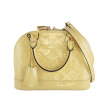 Louis Vuitton Citrine Vernis Alma BB Crossbody Bag - $1,334.00