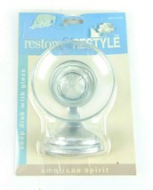 Restore & Restyle American Spirit Wall Mount Glass Soap Dish 1997 Nos - $29.69