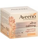 Aveeno Ultra-Calming Nourishing Night Cream, Fragrance Free, 1.7 Ounce - $12.99