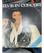 Elvis in Concert 2 Pack Vinyl - $85.00