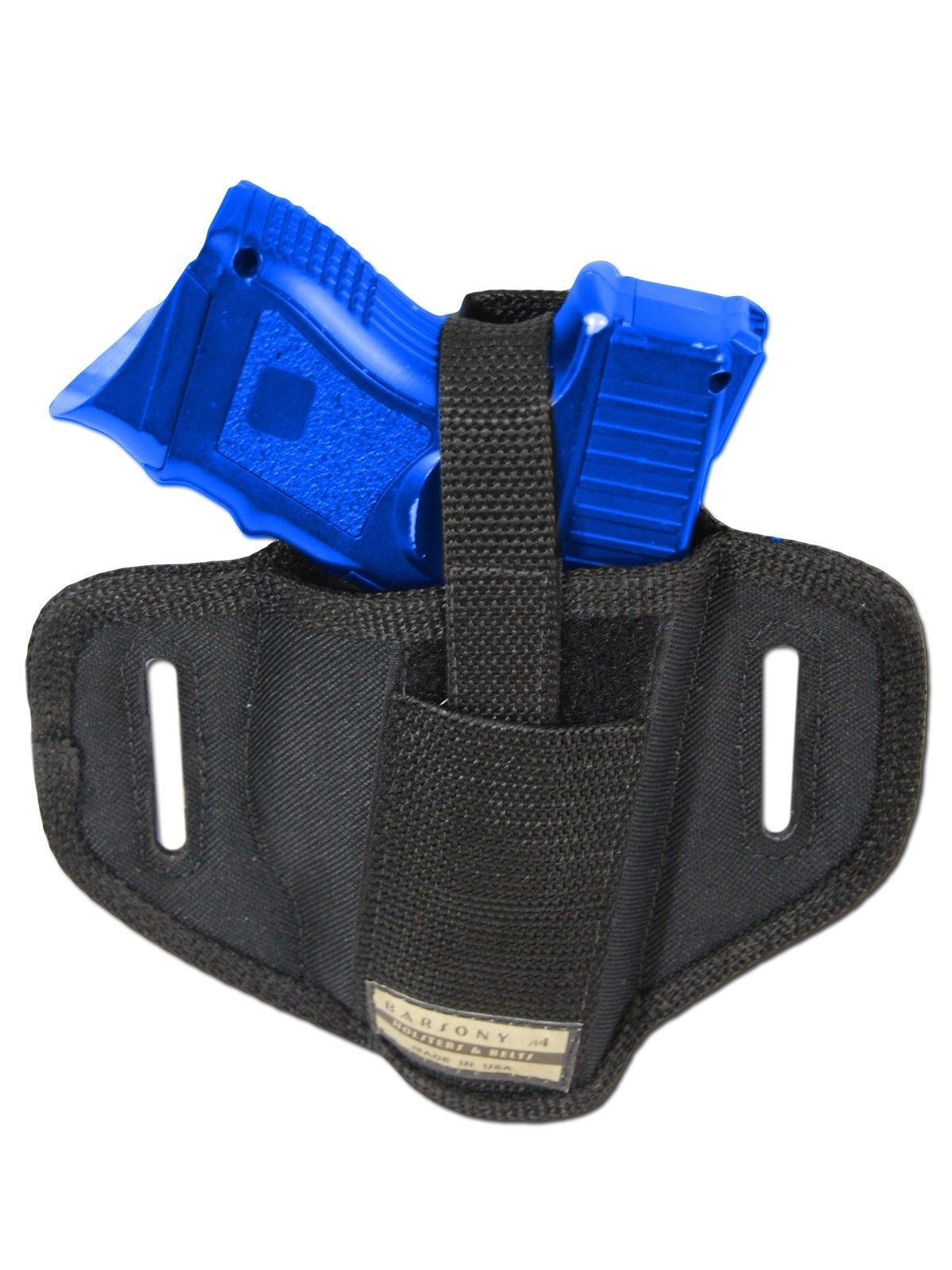 New Barsony 6 Position Ambi Pancake Holster for Springfield Compact 9mm 40 45