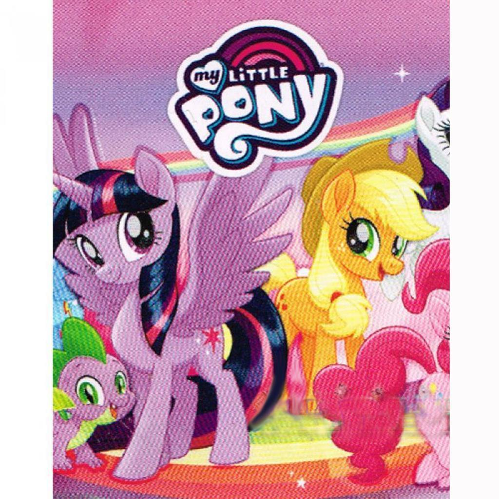 My Little Pony 2 Plastic Table Cover 1 Per Package Birthday Party Supplies New