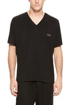 NEW HUGO BOSS MEN'S PREMIUM LIGHTWEIGHT V-NECK T-SHIRT SHIRT BLACK 50214175