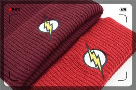 Men Women Winter Warm Beanie Hat Flash Hero Soft Wine Color HipHop - $10.88