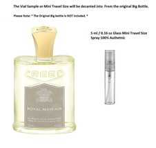 Creed ROYAL MAYFAIR EDP 100% Authentic 5 ml / 0.16 oz spray Mini Travel ... - $16.73