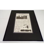 New York Times Feb 28 1991 Framed 16x20 Front Page Poster Desert Storm Ends - $74.44