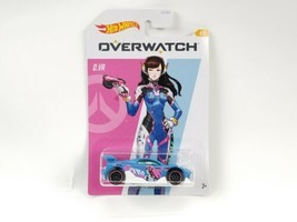 HOT WHEELS OVERWATCH SERIES D.VA  MS-T SUZUKA IN BLUE  #4/5 GDG83