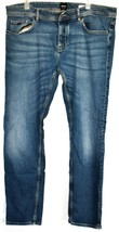 Hugo Boss 040 Taber BC-C Tapered Fit Button Up Stretch Denim Blue Jeans 38/32 - $79.19
