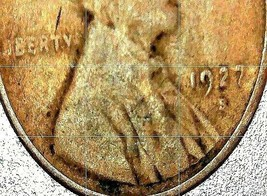 Lincoln Wheat Penny 1927 P,  1927 D, 1927 S AA20-CNP2168 Antique