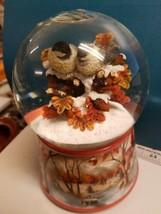 "The San Francisco Music Box Company Snow Globe Eurasian blue Tit ""Let It... - $24.99"