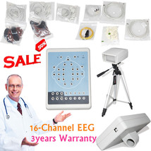 CE Contec KT88 16-Channel Digital EEG Machine& Mapping System PC Softwar... - $949.41