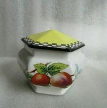 Small Art Deco Tea Caddy Jar & Lid Imperial Porcelain Wedgwood & Co England 1920 - $19.75