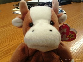 1st Edition Beanie Babies Rare Bessie the Cow, image 1
