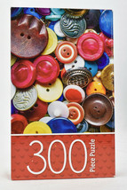 Cardinal Colored Buttons Multi Color Jigsaw Puzzle 300 piece New Sealed - $12.82