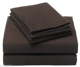 Velvet Cal King Fitted Sheet Set Flannel Pillowcase 100% Cotton Mattress... - $53.46