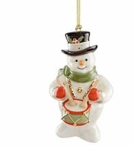New in Box Lenox 2019 Holiday Snowy Beat Snowman Ornament - $24.63
