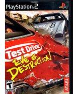 PlayStation 2 - Test Drive - Eve Of Destruction - $8.95