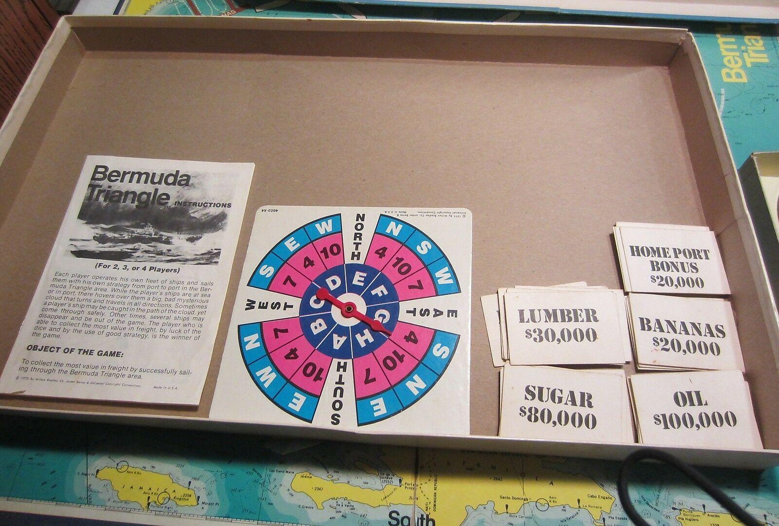 Vintage  Bermuda Triangle board game - complete image 4