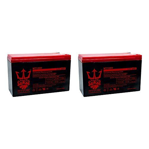 Primary image for 12V 8AH SLA Battery Replaces ep1234w by Neptune - 2 Pack