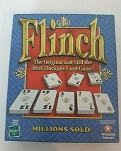 Hasbro Flinch Card Game The Original and Best Family Stockpile Card Game 2002 - $14.80