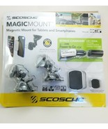 Scosche Magic Mount Magnetic Universal Phone Tablet Mount + Power To Go ... - $33.85