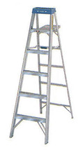 Werner STP LDR ALUM 6ft 225No. 3720-4799 Step Stools & Step Ladders NEW - $96.89