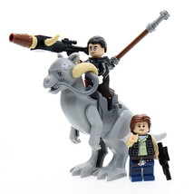 3pcs Han Solo With Tauntaun in Star Wars Mini figure Building Blocks Leg... - $13.68