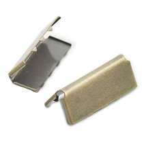 100 PCS Belt Buckle Cotton Clip Nickel For Webbing Tag Bag Handle Clothe... - $7.40