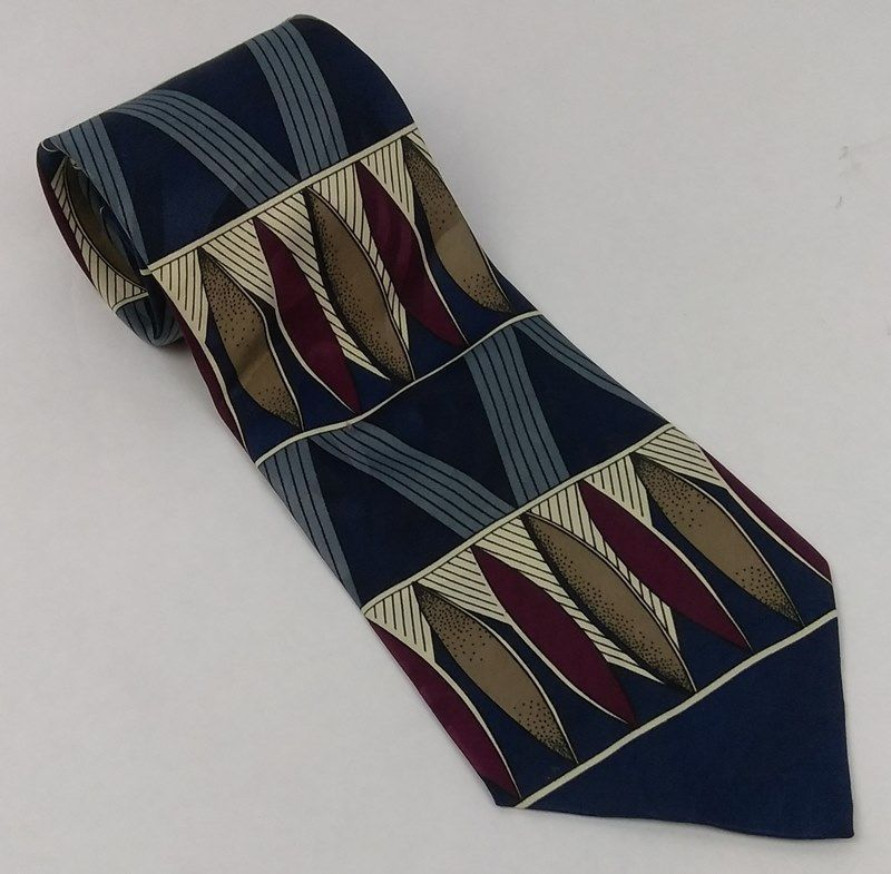Primary image for Elements Men's Necktie Blue Multi Colored