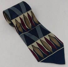 Elements Men's Necktie Blue Multi Colored - $7.09