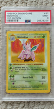 Pokemon Nidorino 37/102 1st Edition Base Set PSA 9 1999 Pokemon Game Sha... - $41.99