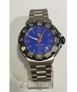 TAG Heuer Formula 1 Blue Dial Men's Wac1112-0 Watch - $650.00