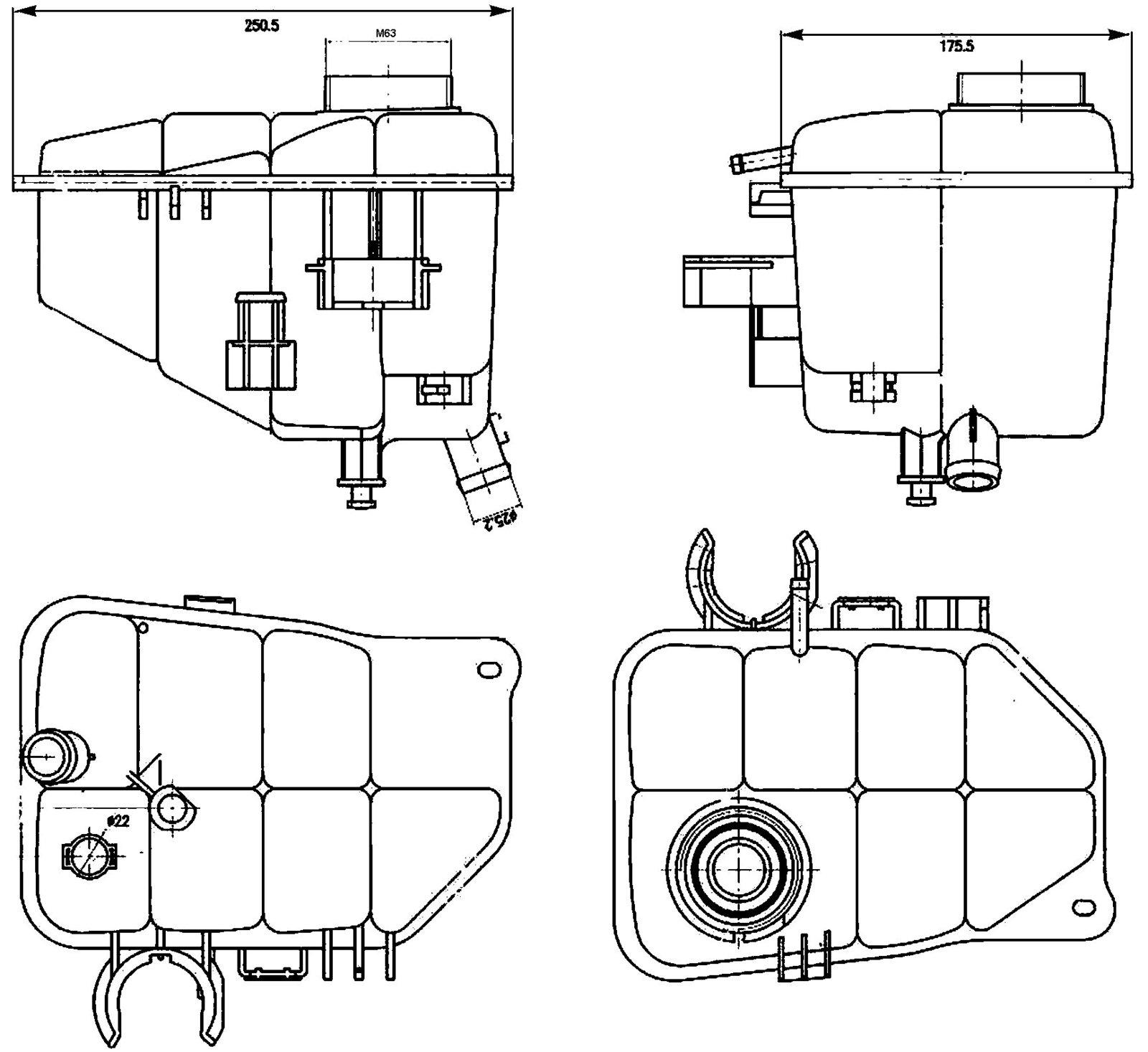 Behr Hella Service 376755221 Engine Coolant And 50 Similar Items Mercedes Benz 81vaxlc 2b 2brl Reservoir