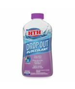 HTH Drop Out Flocculant For Pools, Drops Particles Overnight (32 fl oz) - $32.79